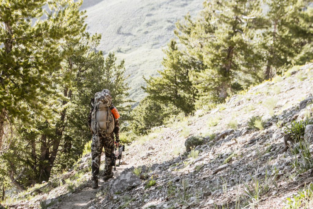 Bowhunting the high country